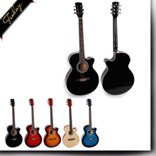 chinese OEM brand 40 ''various color acoustic guitar wholesale FS-4014