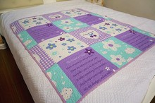 Flower Printing Colorful bed sheet/bed cover set/bedsheet