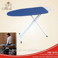 Hotel net top folding ironing board with three legs
