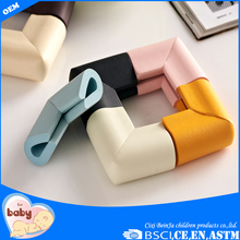 Acessórios coloridos bebê de material NBR borda protector
