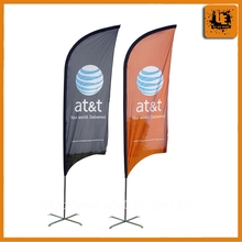 Polyester Flag with aluminum Pole for Advertising and Promotion gift