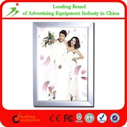 Clip A2 Advertising Led Aluminum Picture Light Box Frame