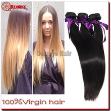 Double weft grade 6A brazilian hair, 100% unprocessed virgin 32 inch hair extensions