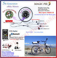 Bluetooth Programmable ! Golden Motor Magic Pie 5 24V/36V/48V 250-1000W electric bicycle conversion kit for sale