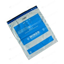 Free Sample China Manufacture SGS Certified Tamper Evident Exam Bags For Ministry of Examination