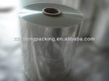 PETG/PET shrink film for beverage label printing