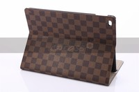 High quality Pu leather cover for ipad air 2 case , for ipad 6 case