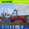 River sand suction dredging boat with diesel engine