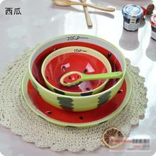 wholesales new products stonware hand-painted bowl,fruit salad bowls,fancy Antique porcelain Fruit Bowl suit