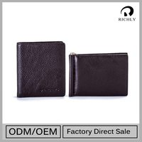 Best-Selling Luxury Quality Personalized Famous Leather Wallet
