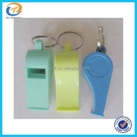 Cheap Custom Plastic Whistle With lanyard