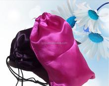 satin gift bag/satin hair bag/silk bags for hair