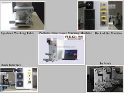portable optical fiber laser marking device price for sale