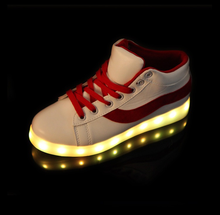 Colorful flashing light shoes led flashing shoes night light shoes