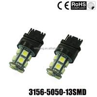 T25 3156 3157 13 SMD 5050 Car Reverse Backup Break Tail Light P21W LED
