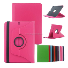 360 Degree Rotation smart Stand PU Leather tablet Case Cover for samsung S2 T810