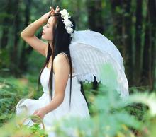 Medium and small number of stage performances wings adult children dress up supplies masquerade feather angel wings props