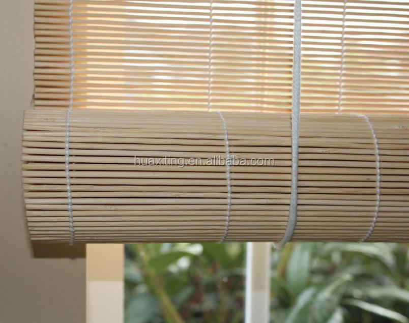 Bamboo Matchstick Window Roll Up Blind Shade Match Stick Buy Outdoor Bamboo Blinds European