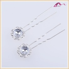 Fashion wedding hair accessories personalized hair stick crystal decorations for dress hair