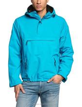 2015 ocean blue waterproof mens outdoor jacket