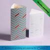 New design triangle cardboard food packaging box