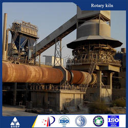 High efficiency rotary kiln production of lime kiln