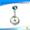 Target flow meters of insertion type