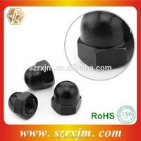 hex cap nuts plastic cap for hex nut