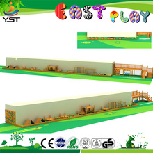 Top Quality Cheap New Design Eco-friendly Customized Children Outdoor Wooden Playground Equipment Safe Wood Slide for Kids