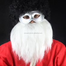 Christmas synthetic white Santa beard festival party supplies