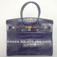 Ladies top fashion handags,crocodile leather handbags