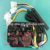 10 wires spare parts Three phase Small generator Automatic Voltage Regulator 10KW AVR KI-DAVR-95S