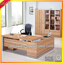 USA popular office desk, high end executive desk, light cherry manager desk