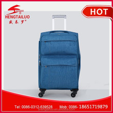 2015 Universal mute wheels vintage royal trolley luggage / travel case