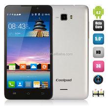Coolpad F1 Mobile Phone MTK6592 Octa-core 1.7GHz 5.0inch IPS OGS HD Gorilla Glass Screen 2GB 8GB 5.0MP+13.0MP Camera 3G WCDMA