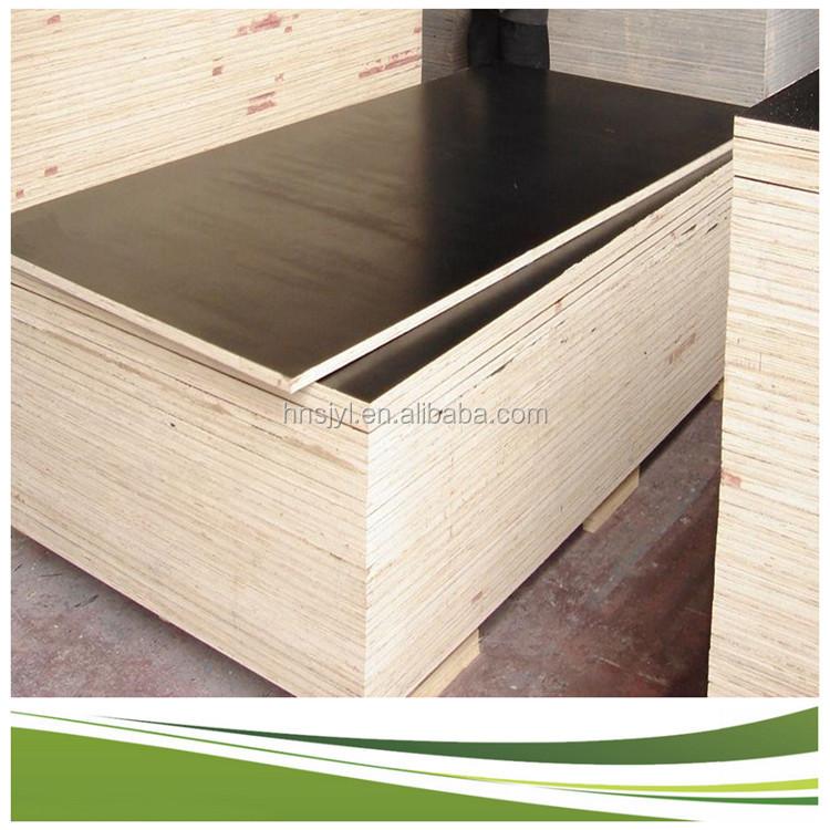 Film faced plywood marine construction