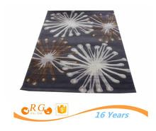 ecofriendly custom antislip exhibition fashion printed rug