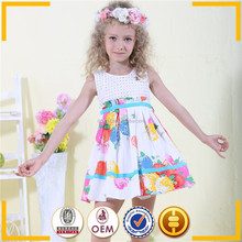 new products kids fashion dresses pictures of party dresses blue ribbon girls cotton frock