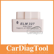Hot Sale!!! New 2014 New White MINI ELM327 Bluetooth OBD2 / OBDII ELM 327 V1.5 Auto Diagnostic Interface Scanner