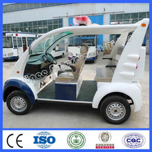 2015 very cheap cars from china electrical vehicle 5 seats open iron shell cruiser car