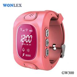 Wonlex Multi-Functional WIFI GPS Watch Tracker GSM SOS Mobile Kids Watch Phone