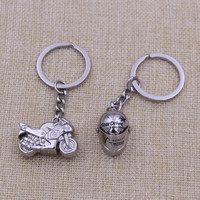 Mini Helmet motorcycle shape keychain for sale