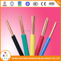 Best price China supplier single core copper wire stranded PVC insulated clear electrical flexible cable