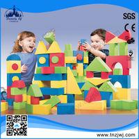 CE approved kids education sponge toy building block
