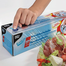customized 14 micron cling wrap with slider cutter