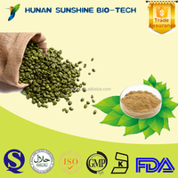 100% natural Anti- tumor&Slimming Care Medicine Green Coffee Bean Extract 50% Chlorogenic Acids
