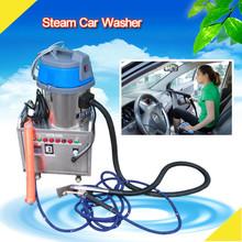 2015 new CE 4KW 6 bar no boiler mobile steam machine dry wash car