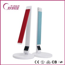 New Colorful study led table lamp dimming and color temperature with usb port flexible with touch sensor