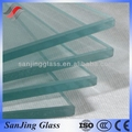 tamanho padrão do painel de vidro