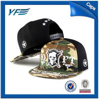 Factory Main Products! Top Quality Custom 6 Panel Snapback For Sale